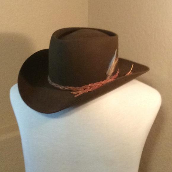 08cfad39 Stetson Accessories | 3 X Beaver Brown Cowboy Hat Mens Size 7 | Poshmark